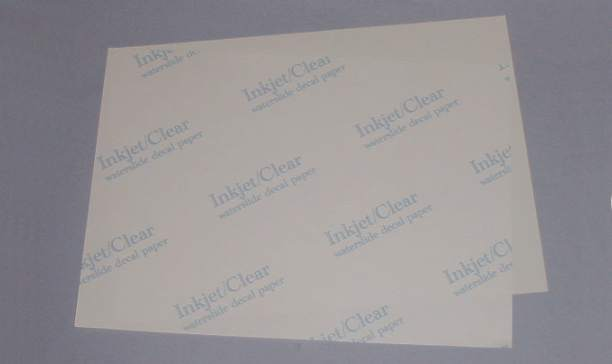 Hornby Train Restorations Parts Water Slide Decal Sheets - Make your own decal paper