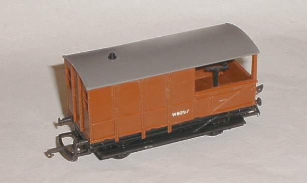 Hornby Train Restorations Tri Ang R124 Wr Br Brake Van