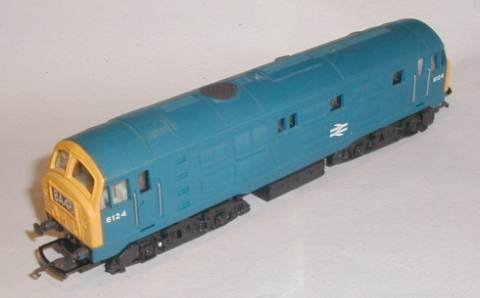 How to service a Hornby R084 Class 29 locomotive with